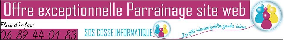 Parrainage site internet